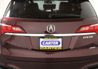 Acura Rdx 2016 Price New Used 2016 Acura Rdx for Sale at Carter Acura