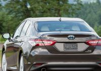 All Car Price Fresh 2019 toyota Camry Hybrid Redesign and Price