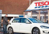 Are Tesla Charging Stations Free Awesome Tesco to Install 2 500 Free Electric Car Charging Points for