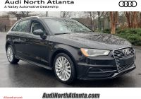 Audi A3 Hatchback Beautiful Pre Owned 2016 Audi A3 E Tron Premium Fwd Hatchback