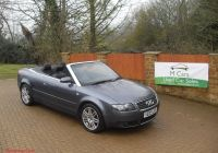 Audi A4 Convertible Best Of Audi A4 Cabriolet Convertible 1 8t Grey Ly 82k
