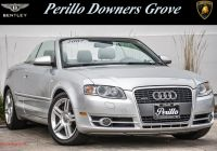 Audi A4 Convertible Lovely Pre Owned 2007 Audi A4 2 0t Awd
