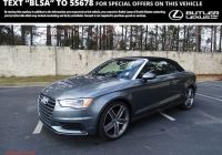 Audi A4 Convertible Luxury Pre Owned 2015 Audi A3 2 0t Premium Plus Convertible In