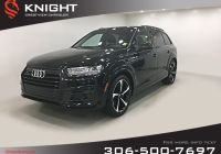 Audi Certified Pre Owned Luxury Certified Pre Owned 2018 Audi Q7 Technik Leather Sunroof