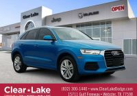 Audi Q3 for Sale Awesome Pre Owned 2016 Audi Q3 Premium Plus