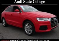 Audi Q3 for Sale Beautiful Misano Red Pearl Effect 2017 Audi Q3 for Sale at Ciocca