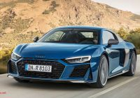 Audi R8 Convertible New Audi R8 Refreshed with Sharper Look and Up to 612 Hp