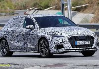 Audi S3 for Sale Awesome 2021 Audi S3 Sportback Spied Looking Ready to Lose Camouflage