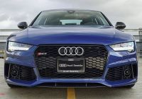 Audi S7 for Sale Beautiful ascari Blue Rs7 Performance All Up In Your Grille