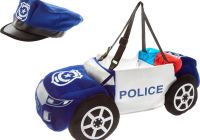 Auto Maxx Unique Blue Step In Police Car Fancy Dress Fancy Dress