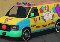 Auto Van Awesome Clown Van Gta Wiki