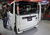 Auto Van Luxury File Osaka Auto Messe 2018 146 Suzuki Spacia Custom