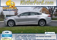 Autocheck Vs Carfax Fresh Certified Pre Owned 2017 ford Fusion Energi Se Fwd 4dr Car