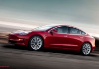 Baby Blue Tesla Awesome Electric Vehicle Prices Finally In Reach Of Millennial Gen