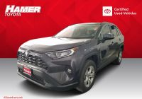 Best Used Small Suv Lovely Certified Pre Owned 2019 toyota Rav4 Xle Fwd Sport Utility