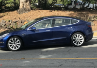 Blue Tesla Model 3 Awesome Tesla Model 3 Great New High Res Look at Blue Release