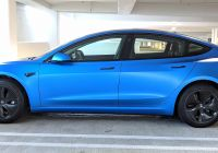 Blue Tesla Model 3 Beautiful Rented This Satin Blue Model 3 During My Vacation so Damn
