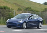 Blue Tesla Model 3 Fresh Tesla Model 3 Updated Version Of the Blue Release Candidate