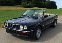 Bmw 3 Series Convertible Awesome Bmw 320i E30 Convertible Blue