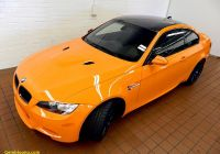 Bmw M3 2010 Fresh Fire orange Bmw M3 Shows Up at Bmw Cleveland