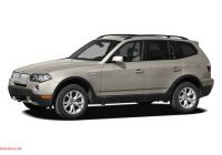 Bmw X3 2010 New 2009 Bmw X3 Xdrive30i 4dr All Wheel Drive Sports Activity Vehicle Specs and Prices