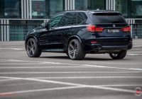 Bmw X5 2017 Beautiful Black Bmw X5 Customized with Intimidating Look In Mind