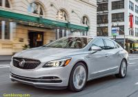 Buick Lacrosse 2019 Inspirational Disappearing Family Sedans 2018 Buick Lacrosse