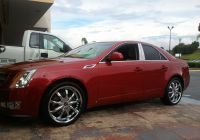 Cadillac Cts for Sale Elegant Cts On 20″ Avenue 605 Customer Cars