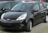 Camry 2007 Fresh File Nissan Note Facelift Front Wikimedia Mons