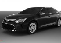 Camry 2016 New toyota Camry Exclusive 2017