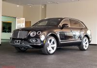 Can You Trade In A Leased Car Early Fresh Used E Owner 2017 Bentley Bentayga W12 Near Skokie Il
