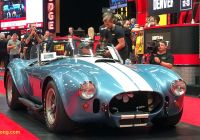 Car Auction Near Me Best Of Shelby Cobra Trio Generate Amazing $6 4 Million total at