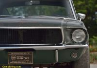 Car Auction Near Me Luxury Mustang Made Famous In Steve Mcqueen Movie Bullitt
