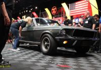 Car Auction Near Me Unique Bullitt Mustang Sells for $3 74 Million at Mecum Auction