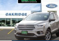 Car Reports Other Than Carfax Lovely 2018 ford Escape Sel White Gold Metallic 1 5l Ecoboost