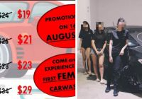 Car Wash Near Me Luxury First All Female S Pore Car Wash to Open In Yishun On August