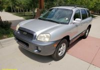 Carfax Corporate Vehicle Elegant 2002 Hyundai Santa Fe Gls
