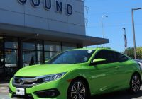 Carfax Report Free with Vin Number Lovely Preowned 2017 Honda Civic Coupe for Sale In Seattle Wa
