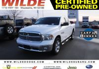 Carfax Used Cars and Trucks Inspirational Certified Pre Owned 2018 Ram 1500 Big Horn 4wd