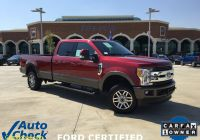 Carfax Used Cars and Trucks Luxury 2017 ford Super Duty F 250 Srw King Ranch