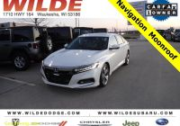 Carfax Used Cars Canada Lovely Pre Owned 2018 Honda Accord Sedan touring 1 5t with Navigation