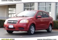Carfax Used Cars Milwaukee Awesome Used 2009 Chevrolet Aveo Lt W 1lt