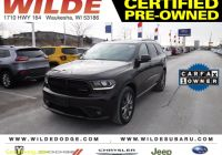 Carfax Used Cars Milwaukee Beautiful Certified Pre Owned 2017 Dodge Durango Gt with Navigation & Awd