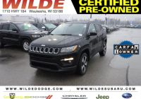 Carfax Used Cars Milwaukee Best Of Certified Pre Owned 2018 Jeep Pass Latitude 4wd