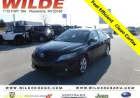 Carfax Used Cars Milwaukee Best Of Pre Owned 2011 toyota Camry Le 2wd Fwd Sedan