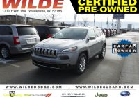 Carfax Used Cars Milwaukee Elegant Certified Pre Owned 2017 Jeep Cherokee Limited 4wd