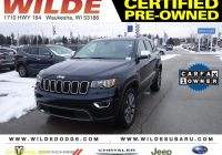 Carfax Used Cars Milwaukee Fresh Certified Pre Owned 2018 Jeep Grand Cherokee Limited with Navigation & 4wd
