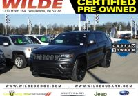 Carfax Used Cars Milwaukee Inspirational Certified Pre Owned 2017 Jeep Grand Cherokee Altitude 4wd