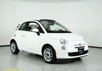 Carfax Used Cars Mn Luxury Pre Owned 2015 Fiat 500c Pop Fwd 2dr Car