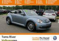 Carfax Used Cars Near Me Lovely Certified Pre Owned 2016 Volkswagen Beetle Convertible 1 8t Denim Fwd Convertible